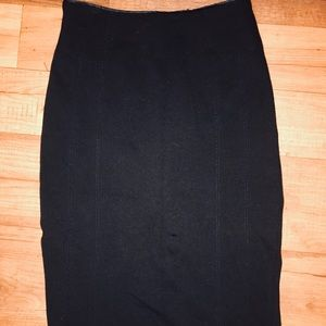 Black WHBM pencil skirt